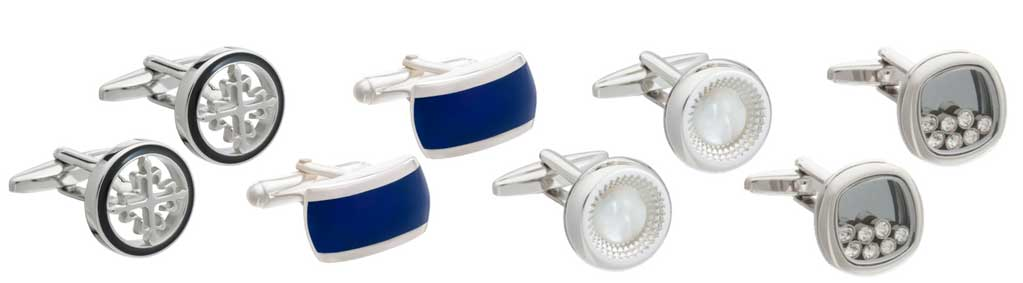 Cufflinks by Elizabeth Parker