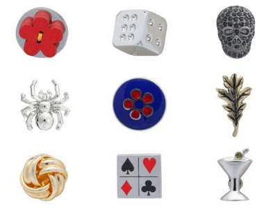 Elizabeth Parker Lapel Pins for Christmas Gifts