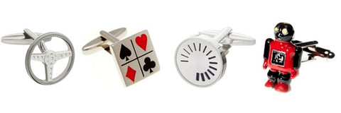 Novelty Wedding Cufflinks