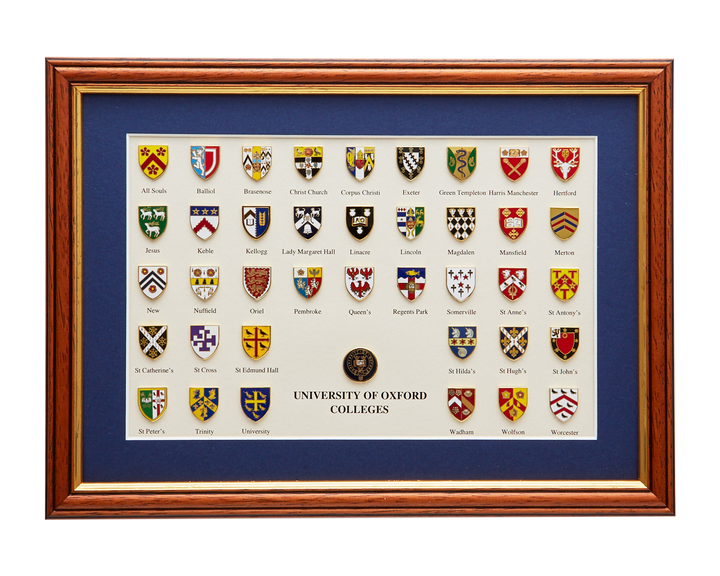 Official University of Oxford College Picture Frame