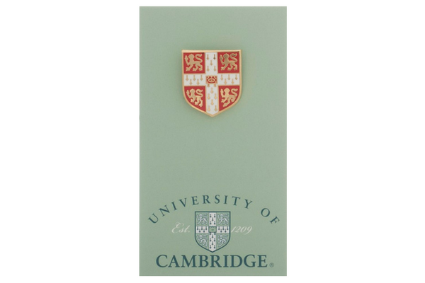 Official University of Cambridge Full Colour Lapel Pin