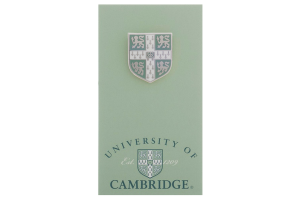 Official University of Cambridge Light Blue Lapel Pin