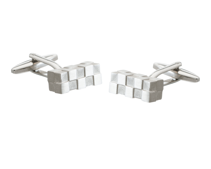 Uneven Block Bar Cufflinks