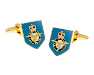 Royal Air Force Blue Military Styled Cufflinks