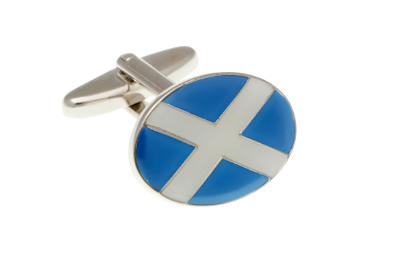 Flag of Scotland Cufflinks
