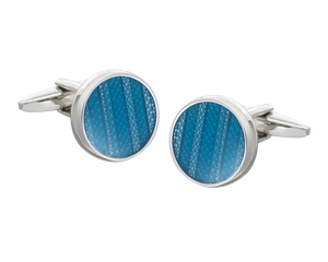 Blue Marvell'O'us Cufflinks