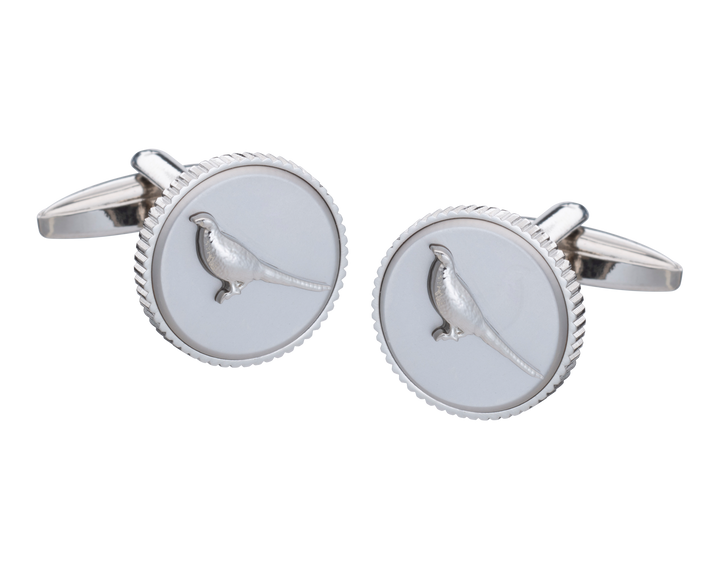 Mr Pheasant Cufflinks
