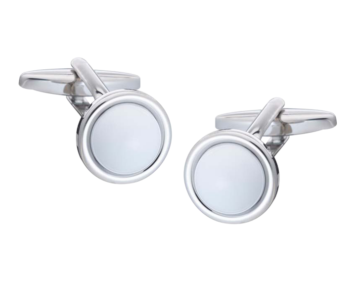 Spot It White Cufflinks