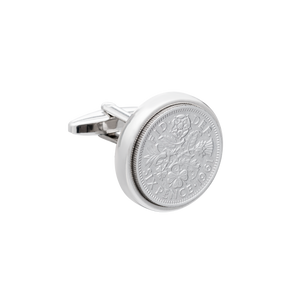 Sixpence Heirloom Coin Cufflinks