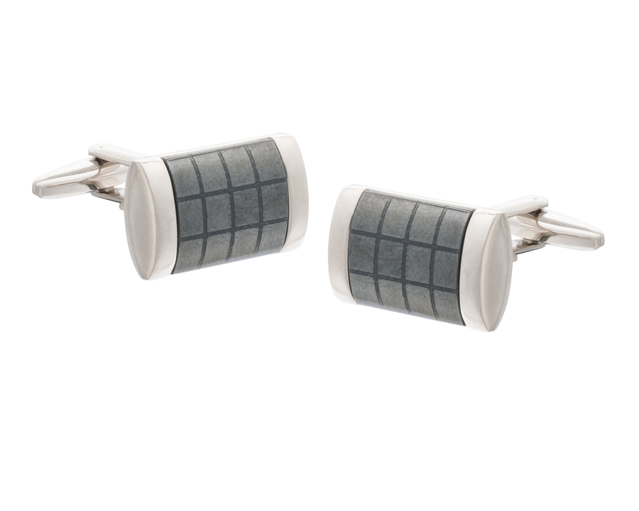 'Fit For A King' Hematite Cufflinks
