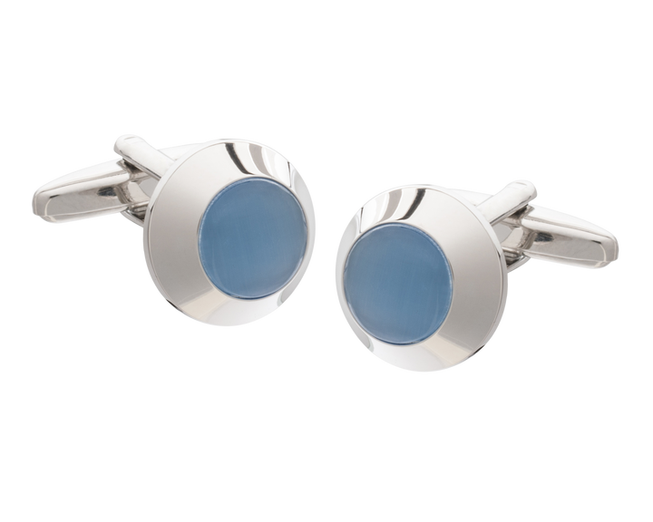 Blue Beacon Cufflinks