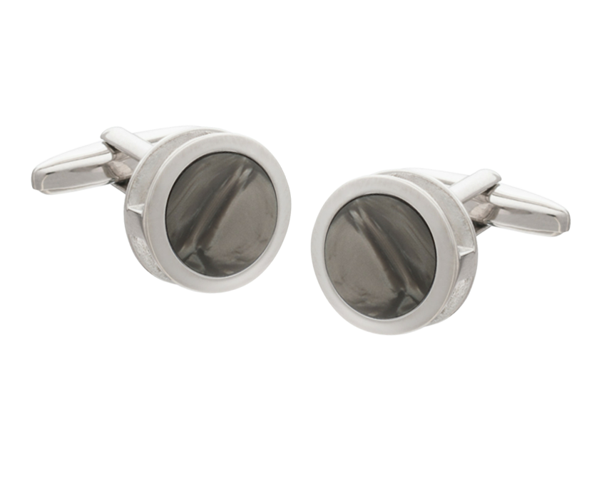 Grey Inside Out Cufflinks