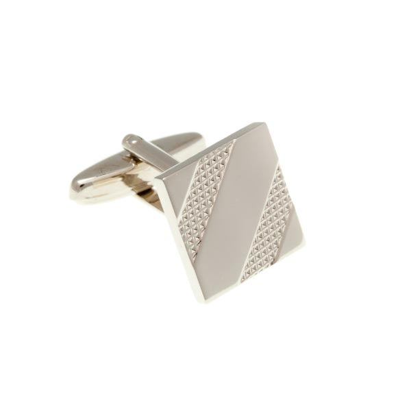 Tyre Track Cufflinks in .925 Silver