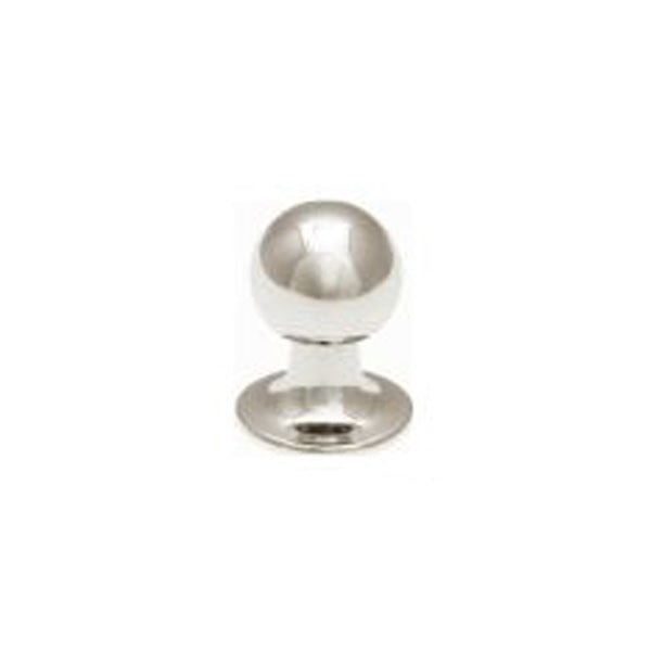 Single Simply Metal Spherical Dress Stud by Elizabeth Parker
