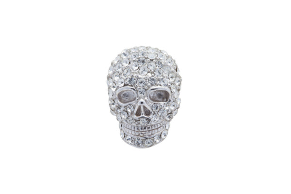 Mad and Bad Clear Crystal Skull Gift Set