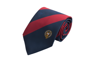 University of Oxford Broad Stripe Tie Blue and Red