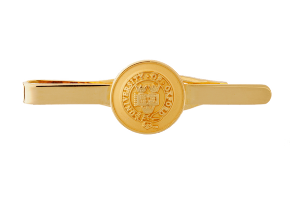 University of Oxford Gilt Tie Slide