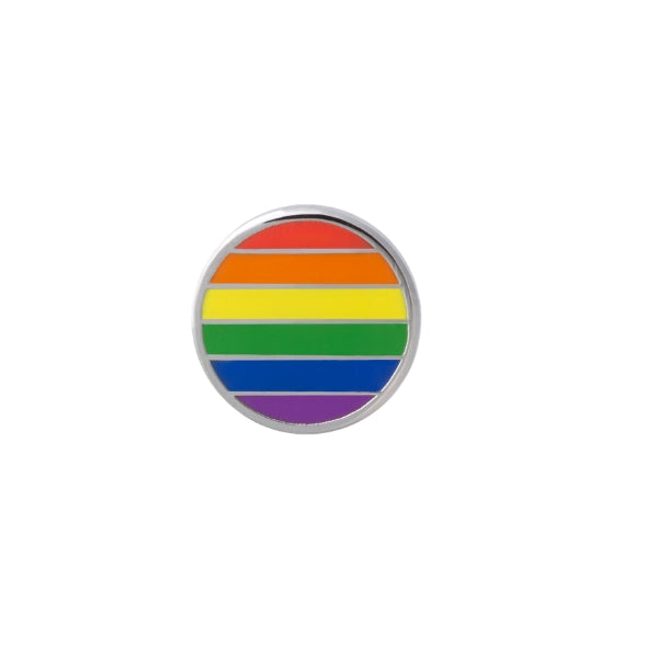 Colours of Love Lapel Pin