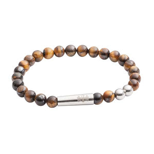 Tiger Eye Bead Bracelet by Elizabeth Parker