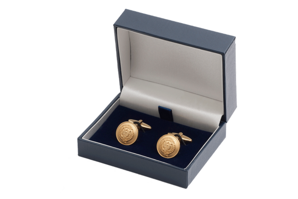Official University of Oxford Gilt Cufflinks