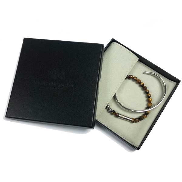 Elizabeth Parker Luxury Bracelet Pouch and Box
