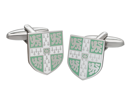 Official University of Cambridge Light Blue Cufflinks