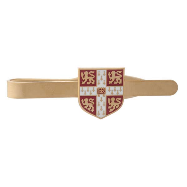 Official University of Cambridge Red Crest Tie Slide