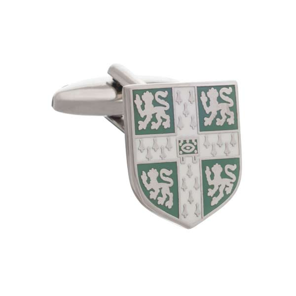 Official University of Cambridge Light Blue Crest Cufflinks