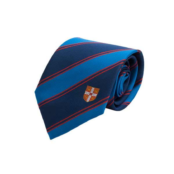 Official University of Cambridge  Double Stripe Red Tie