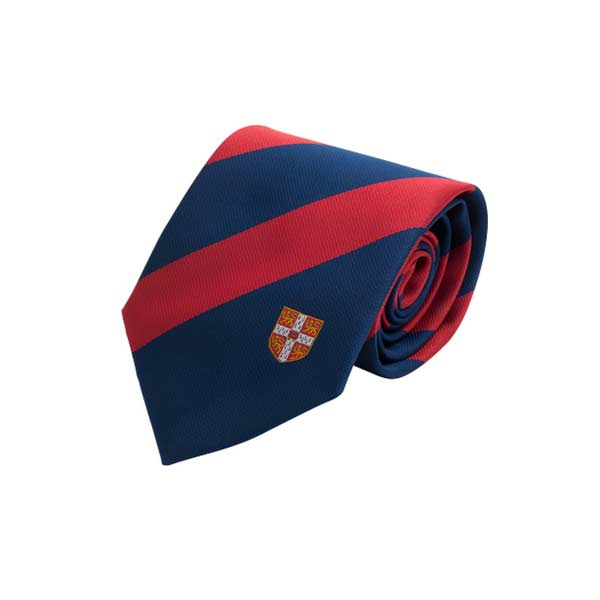 Official University of Cambridge Red Stripe Tie