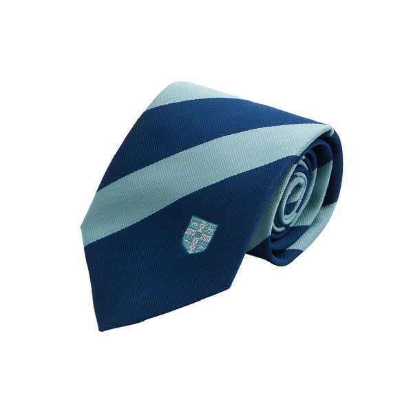 Official University of Cambridge Broad Striped Blue Tie