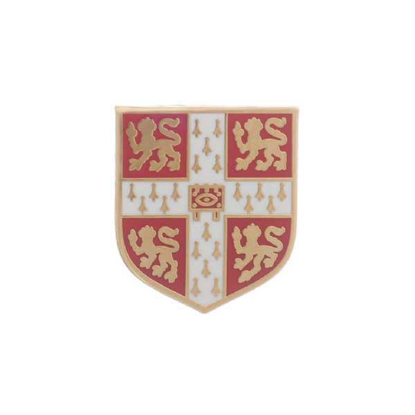 Official University of Cambridge Red Lapel Pin