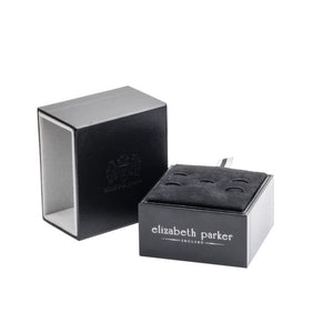 Luxury Cufflink Gift Box by Elizabeth Parker