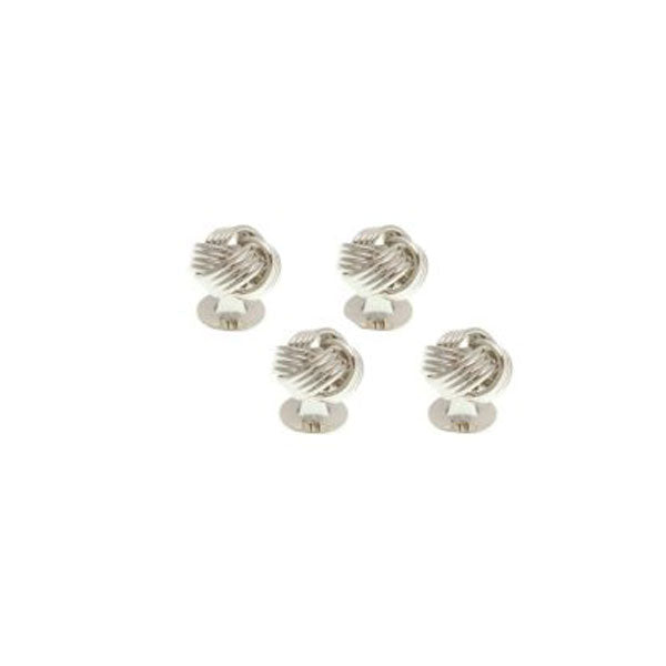 4 Knot Weave Style Dress Studs Set by Elizabeth Parker