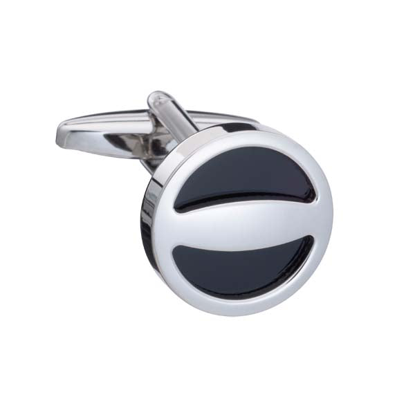 'The Label' Black Cufflinks