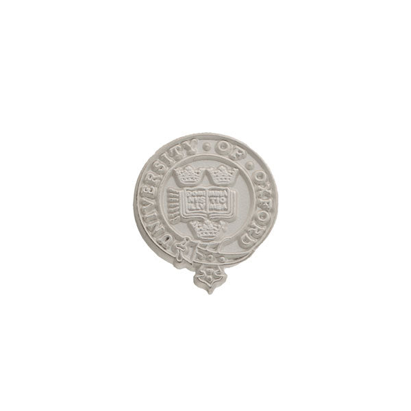 Official University of Oxford Heritage Crest Lapel Pin Metal