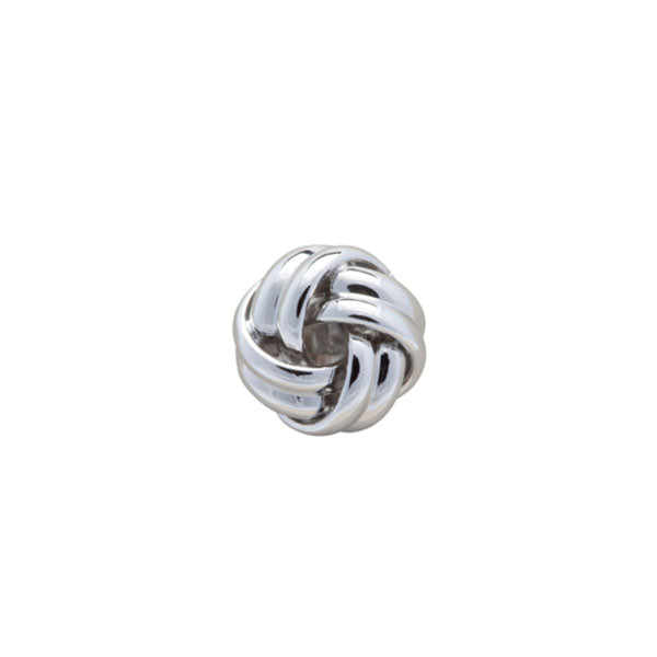Small Knot Design Style Simply Metal Lapel Pin by Elizabeth Parker