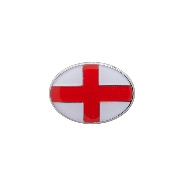 St Georg;es English Flag Lapel Pin by Elizabeth Parker