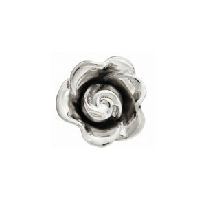 Simply Metal Three Dimensional Flower Lapel Pin by Elizabeth Parker