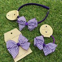 Liberty Gingham Bow