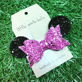 Glitter Bow with Ears