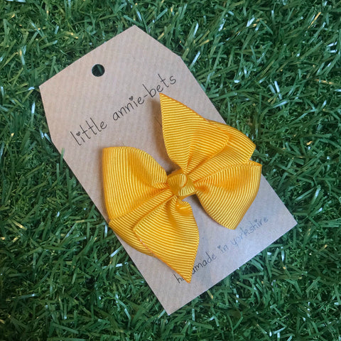 Sunflower Pinwheel Bow