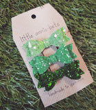 Diddy Glitter Bow - Sets of 3