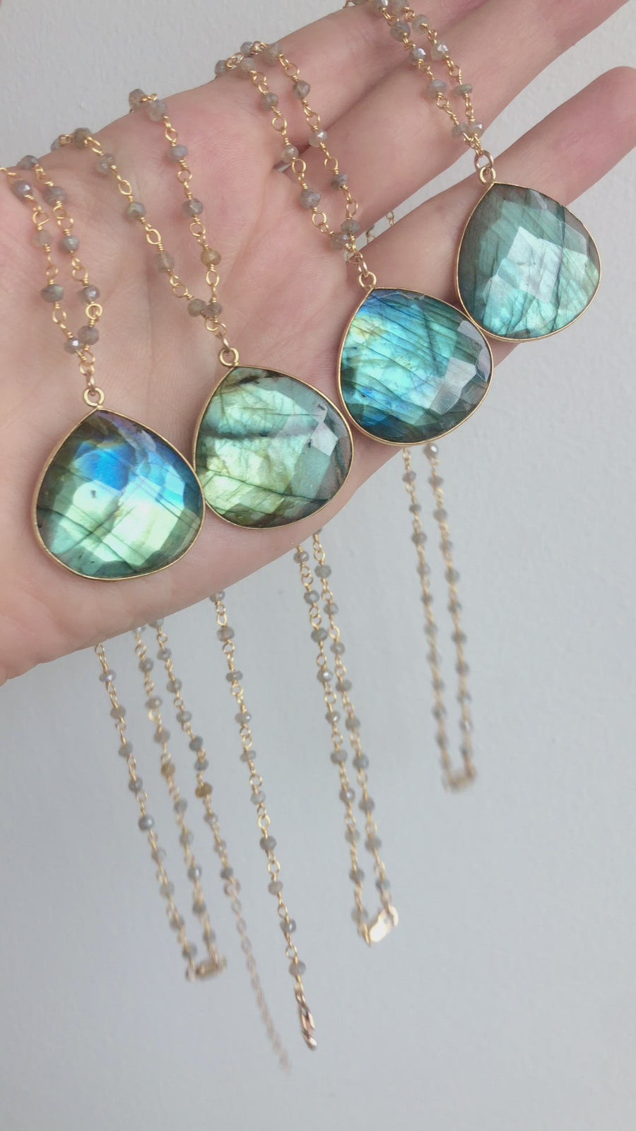 Bohemian Labradorite Necklace