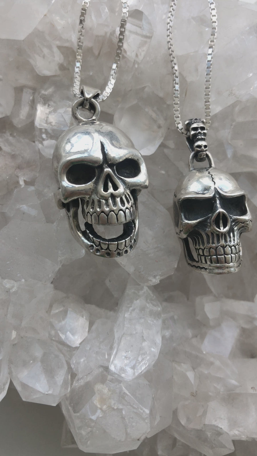Vintage Skull Necklace