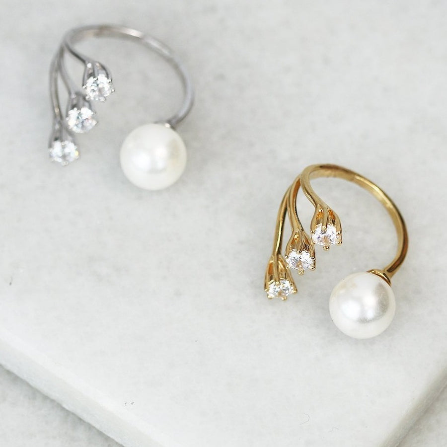 Pearl Constellation Ring