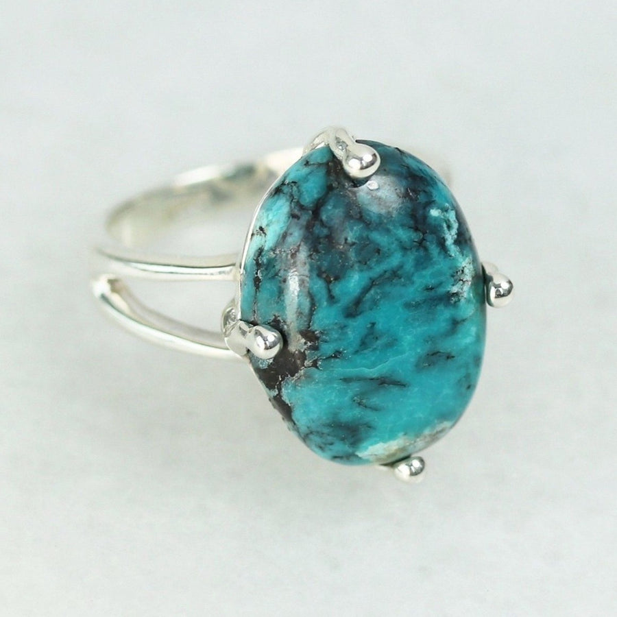 Prong Set Turquoise Ring