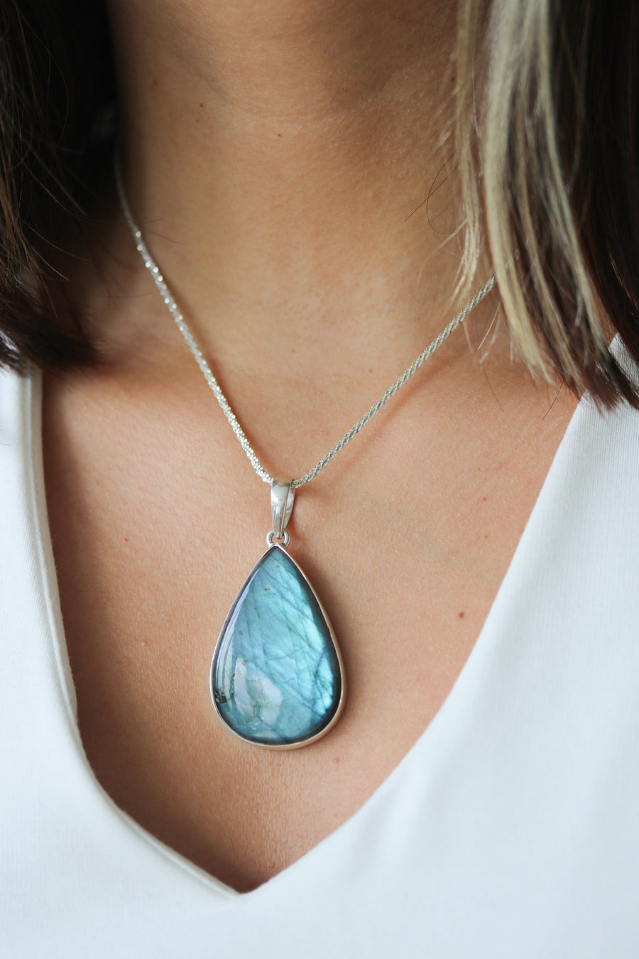 XL Labradorite Necklace