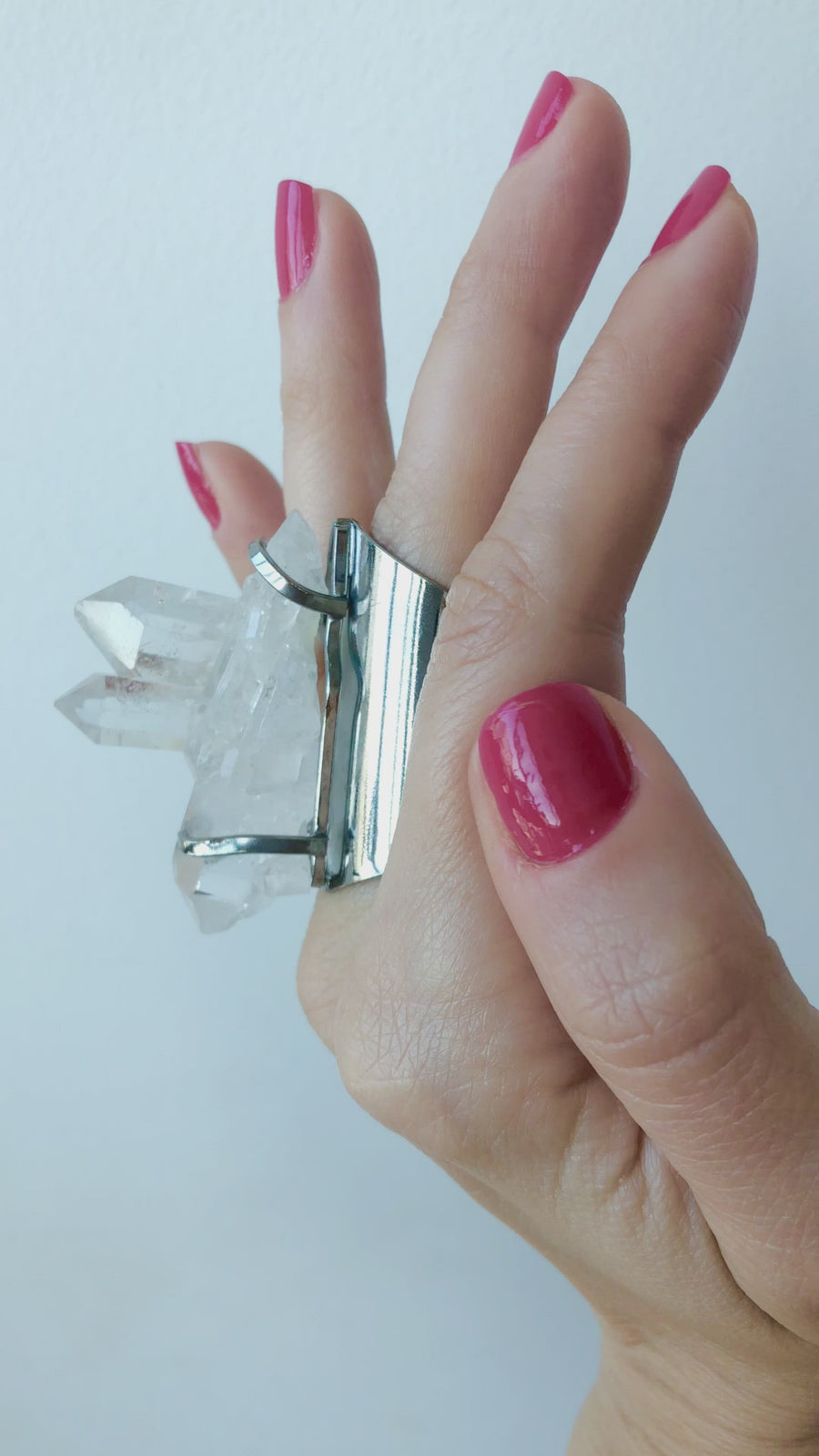 Crystal Warrior Quartz Ring