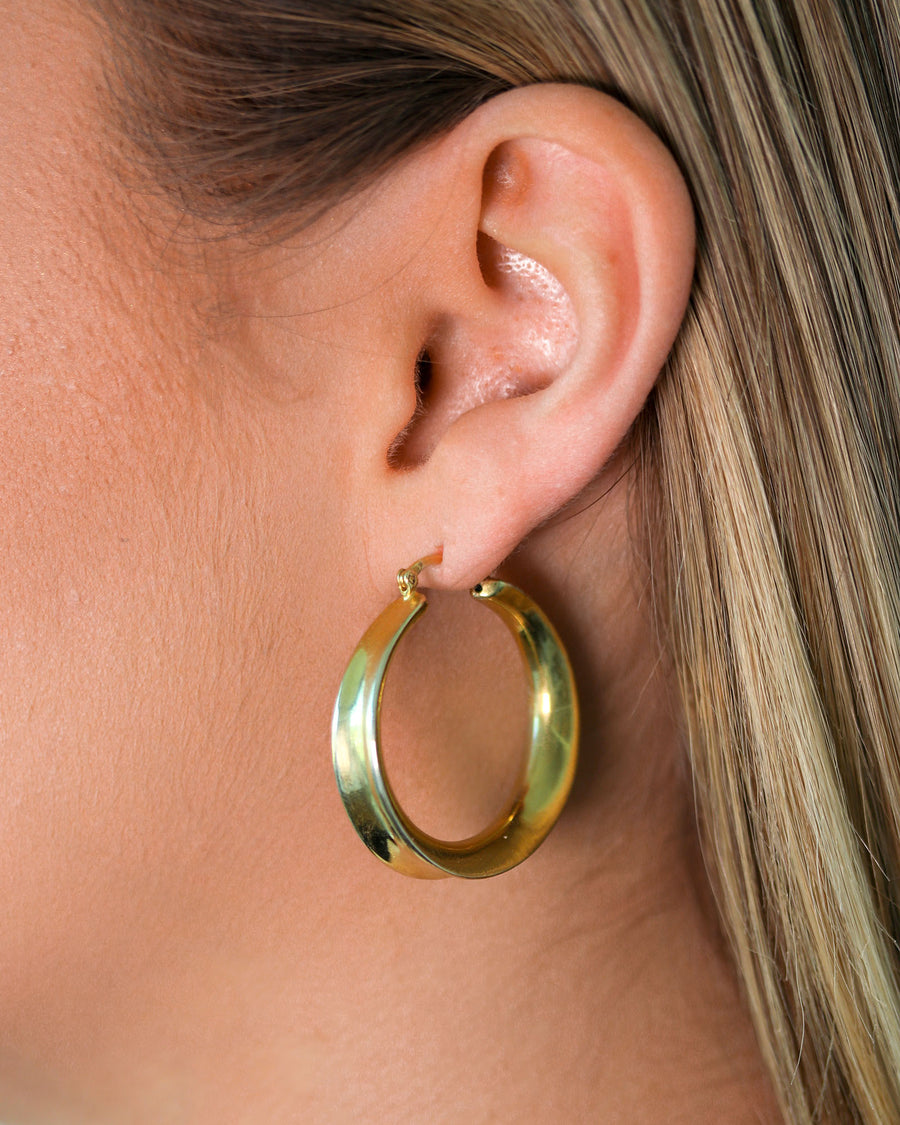 Hollow Ellipse Hoops